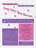 Young Artists' Opera Showcase